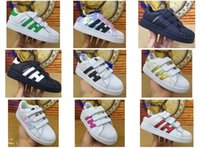 Wholesale supercolor superstar children boy girls Sneaker fashion Running Sport Shoes size28