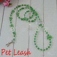 beaded dog leashes - Green beaded dog leash Dog Rope amp Harness Rope Pet Products Pet Accessories