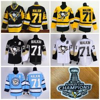 authentic malkin jersey - New Arrival Stanley Cup Champions Jerseys Evgeni Malkin Pittsburgh Penguins ICE Hockey Men s Throwback JerseY Stitched Authentic