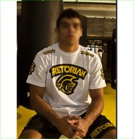 Wholesale New White Boxing Short Sleeve Shirt Jersey Men Muay Thai Training Clothing Summer