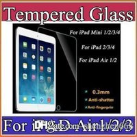 Wholesale For iPad mini iPad Mini iPad Air Tempered Glass Screen Protecter Screen Guard for Ipad Air with h Hardness Ultra thin A PG
