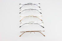 eyeglasses - Brand Silhouette rimless optical glasses frames titanium rimless eyeglasses frame myopia frame hinge memory titanium optical frames eyeglass