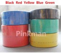 Wholesale 5M mm EVA Heat Shrink Tubing Shrinkable Tube Colors eva felt tube lucky