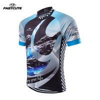 Wholesale 17 Style Fastcute Popular Man Cycling Jersey Tops Bike Short Sleeve shirt Clothing Sportswear Clothes outdoor wear FC04