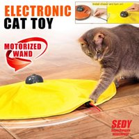 Wholesale SEDY Electronic Cat Toy Fabric Cat s Meow Undercover Fabric Moving Mouse Fun