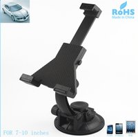 Wholesale Universal Car Windshield Mount Holder for inch Tablet PC Degree Rotation Tablet Car Holder Stand Soporte Tablet Coche Tablet Tutucu