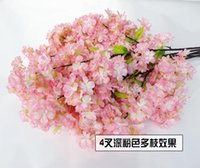 Wholesale Wedding Decorations Cherry Blossoms Artificia Flower Wedding Flower Wisteria Home Garden Decorations top quality flower