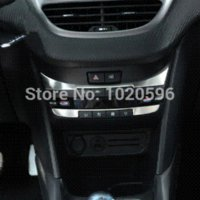 ac central air - Peugeot dedicated central dashboard decoration sticker Peugeot AC air conditioning switch interior sticker NEW stickers button
