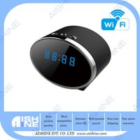 Wholesale Wireless unique clock cameras wifi wc spy toilet hidden cam HD p Mini camera for home safety