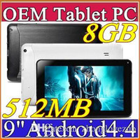 Wholesale 30PCS inch Dual core Android Tablet PC MB GB GHz Allwinner A33 Bluetooth Ebook Reader A PB