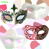 Wholesale 4pcs DIY Paper Pulp Facial Mask for kids handmade