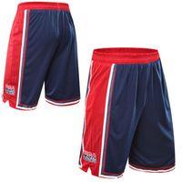 bermuda shorts sport - USA Basketball Shorts Men Polyester Mesh Sport Running Short Pants Homme Drawstring Gym Joggers Bermuda Surf Pantaloncini Basket
