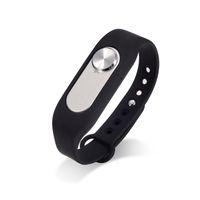 Wholesale Wearable bracelet Wristband GB Digital Voice Recorder Wrist Watch Rechargeable Recording Pen Drive Sound Audio Recorder Black