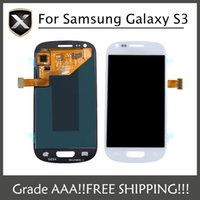 galaxy s3 digitizer - Original Quality For Samsung Galaxy S3 I9300 I9308 I9305 T999 i535 I747 LCD Display Digitizer Touch screen