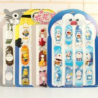 Wholesale bag Cute Kawaii Minions Bookmark Lovely Cartoon Totoro Doraemon Bookmarks Korean Stationery