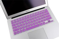Wholesale Waterproof Laptop Soft Silicone Protective Colorful KeyBoard Case Protector Cover Skin For MacBook Pro Air Retina inch Dustproof