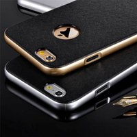 apples rubber bumpers - Slim Hybrid Armor Fitted Phone Case Shockproof Soft Silicone Rubber Plastic Hard Bumper Case Cover For Iphone S S Plus