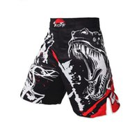 animal fighting style - New Ink Style Domineering Screaming MMA Fitness Breathable Shorts Fight Boxing Muay Thai Kickboxing Shorts Boxeo