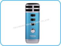 Wholesale Mini Pocket Microphone KTV Karaoke Player Portable for iPhone iPad PC MP3 MP4 MP5 player mp4 player mp3