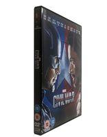 america dvd region - Captain America Civil War Disc set Uk Version Region