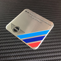 aluminum limited edition - 300logo high quality Aluminum badge MINI Mortorsport International Limited Edition CAR emblem Sticker For COOPER MUGEN Power