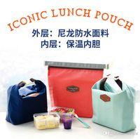 El recorrido de la comida campestre del almuerzo del refrigerador del impermeable impermeable portable lleva la bolsa de asas La buena calidad a estrenar libera el envío