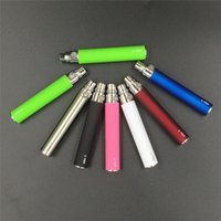 Wholesale In Stock eGo T Battery for E Cigarettes for Thread mt3 CE4 CE5 CE6 iclear30s mini protank mAh Various Color