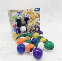 36pcs fijaron ABS Clásico Acción Anime Figuras Poké Balls Pokeball hada de la bola bolas Super Master Ball Niños Juguetes del empuje de bola del regalo CCA4745 50set