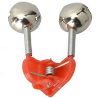 Wholesale Red Fishing Bells Bobber for Fish Bite Bait Alarm Metal and Plastic F00171 BARD