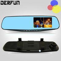 Wholesale Full HD Dash Camera P Degree Wide angle Car dvr Inch Rearview Mirror Digital Video Recorder