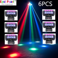 auto zone led lights - EPL colors led pocket mini spider beam moving head effect light sweeping zone dj shows nightclubs mobile stage ktv party dmx