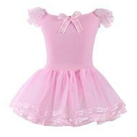ballerina tutus - 2016 Lace Ballet Dance Dress For Girls Kids Party Ballet Tutu dress Children Ballerina Dancewear Princess Ballet Costumes S3