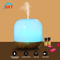 aromatherapy atomizer - New Hot Sale ml Mini Ultrasonic Humidifier Aromatherapy Essential Oil Diffuser Atomizer Aroma Diffuser Air Purifier Cool Mist Maker Fog