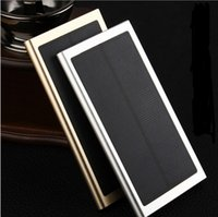 apple table pc - 20000mah portable solar power bank Charger Battery mAh Solar Panel powerbank Charging for iphone plus Cell Phone table PC mp3