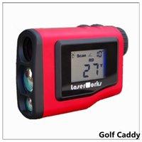 Wholesale Golf rangefinder m laser range angle golf distance measurement monocular telescope LCD waterproof hunting rangefinder