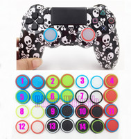 Wholesale Colorful Skid Thumb Grips for Game Controllers High Quality Silicone Buttons Cap Cover for Wired Wireless Controller