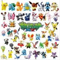 Wholesale NEW Hot set Pikachu poke doll Action Figures cm toys Decoration doll mix styles b177