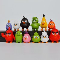 best bird toys - 2016 New Version Angry Bird set Action Figures Anime Toys Best Gifts for Children