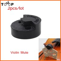 Wholesale Violin Practice Mute Professional Fiddle Silent Silencer Violin Parts amp Accessories