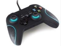 Precio de Tercero-Origen de fábrica Controlador con cable de terceros para juegos de Xbox uno Joystick para juegos