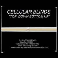 Wholesale Cellular Honeycomb Blinds Cordless top down bottom up custom made size