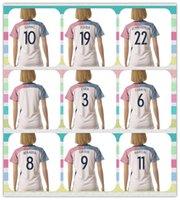 france - New Product Women s Women European Cup France GRIEZMANN GIROUD GIGNAC POGBA Soccer Jersey White Away Jerseys Shirt