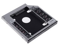 Wholesale new arrive nd HDD HD Hard Disk Driver Caddy SATA for mm CD DVD ROM Optical Bay Universal caddy