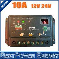 Wholesale 10A V V Auto intelligence Solar Charge Controller Regulators with Timer and Light Sensor