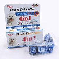 Wholesale Safety Pet Dog Doggy in Anti Fleas Ticks Flea eggs Mosquitoes Collars Necklace Necklet Leash Killer Repeller CLA002