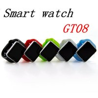 Cheap GT08 Bluetooth Smart Watch A1 Wrist Watch Men Sport iwatch style watch for IOS Apple Android Samsung smartphone