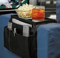 beverage control - 6 Pocket Sofa Couch Arm Rest sofa Organizer Remote Control Holder