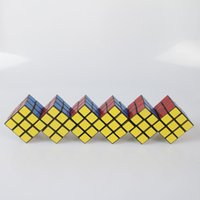 Wholesale Black x3x3 Six conjoined alien magic cube Puzzle Speed Classic Toys Learning Education For children