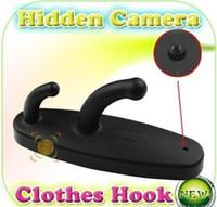 Cheap white black Spy Clothes Hook Camera Clothes Hanger HD Hidden Camera with Motion Detection Mini Spy DVR Pinhole Cam Webcam