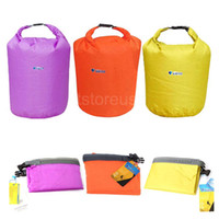 Wholesale 20L L L Waterproof Bag Storage Dry Bag for Canoe Kayak Rafting Sports Outdoor Camping New Portable Travel Kit Equipment